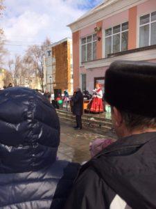 Масленица 2017 в Зубчаниновке.